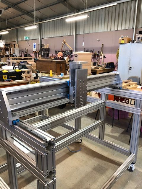 our CNC is 1.5m x 2m