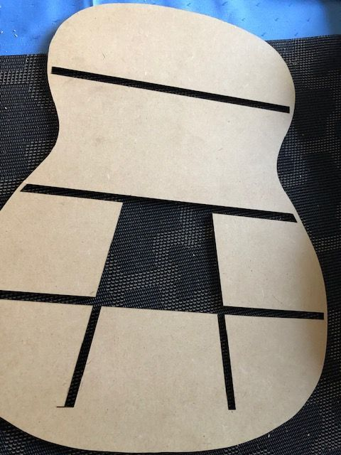 marking template for ribs