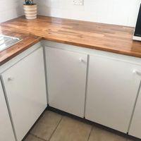 80s kitchen renovation