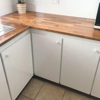 80s kitchen renovation
