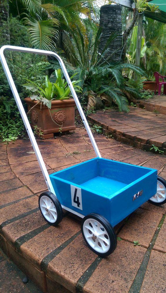 Toy trolley.