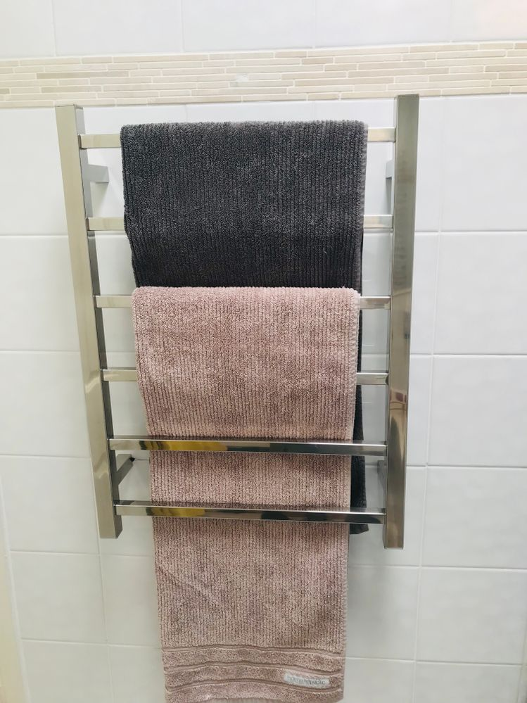 And a Towel rack