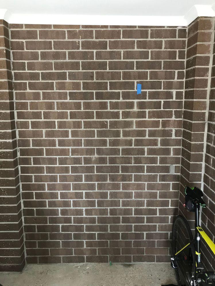 Garage Brick Wall