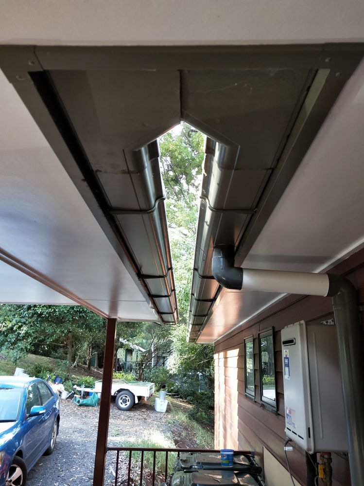 guttering with a difference