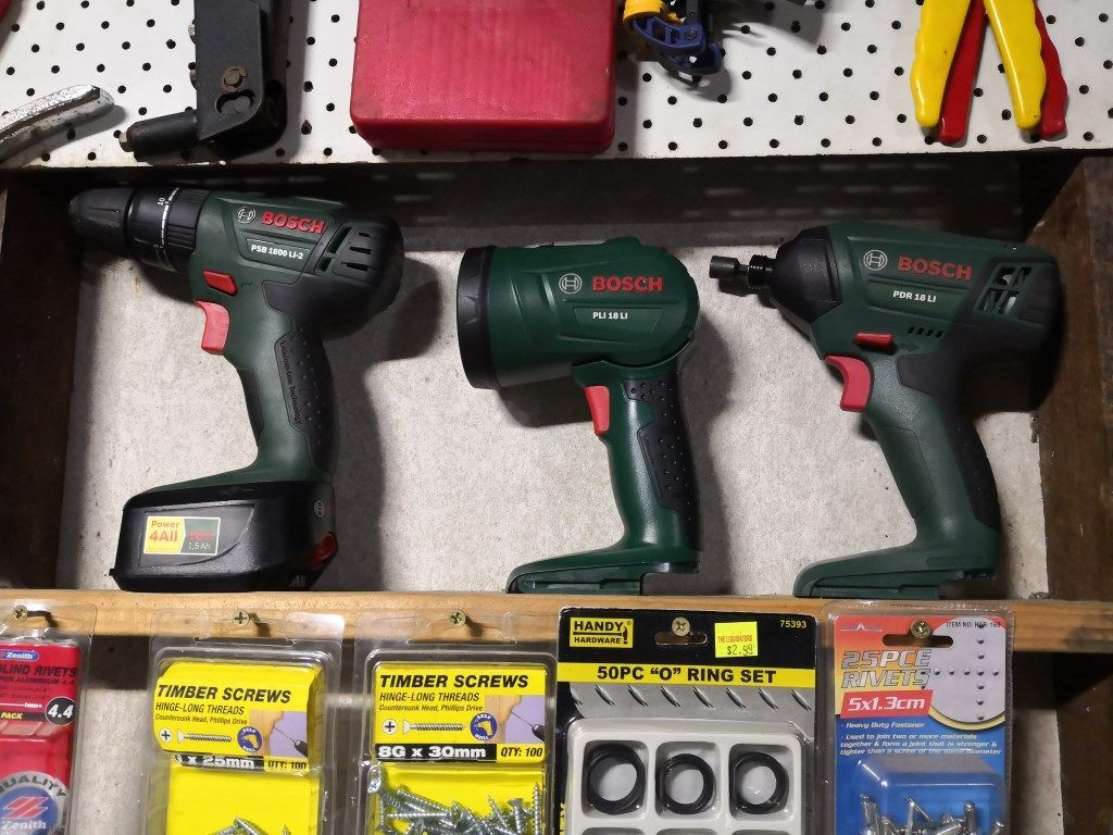 Bosche Green kit from Bunnings