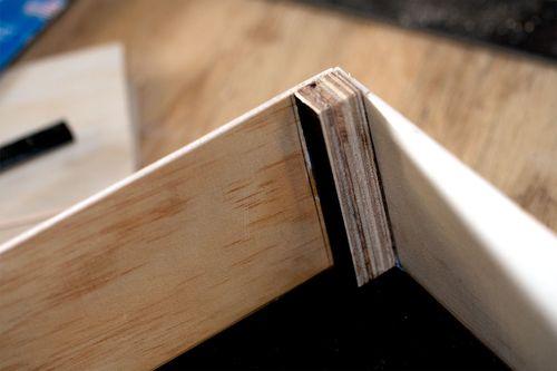 Detail of corner reinforcement.