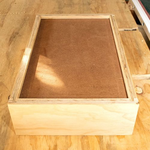 Masonite base dry fitted.