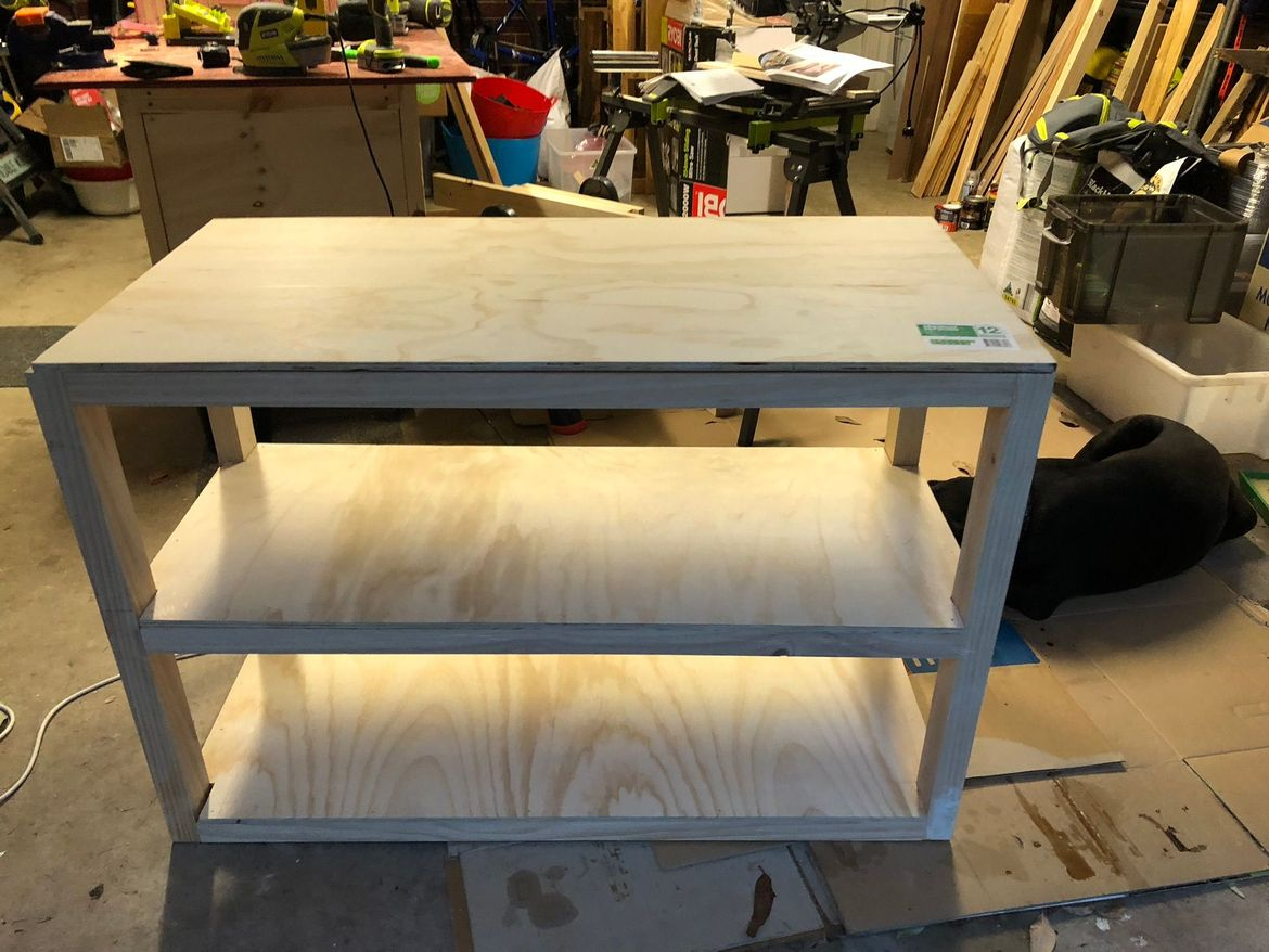 6th project - change table, present for girlfriend