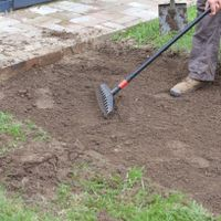 3. Use a mattock or hoe to remove excess soil.jpg