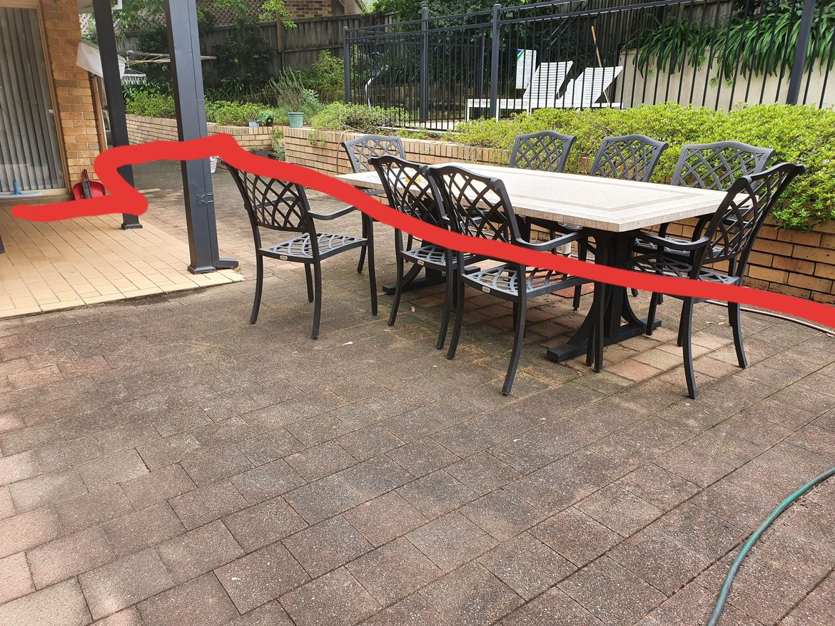 Existing paved area