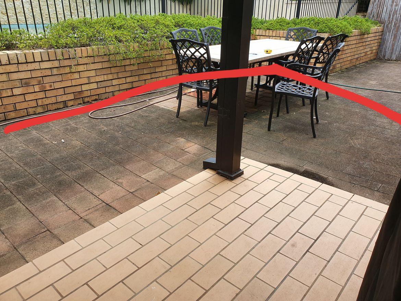 From verandah to retaining wall