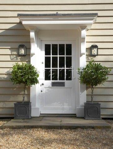 Solved: Awning over back door - what materials? - Workshop