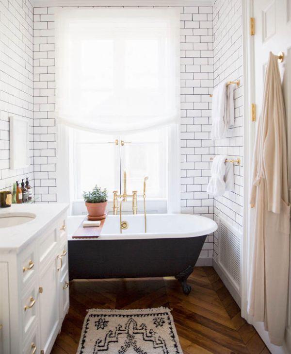... Bathroom With Floorboards Part 57
