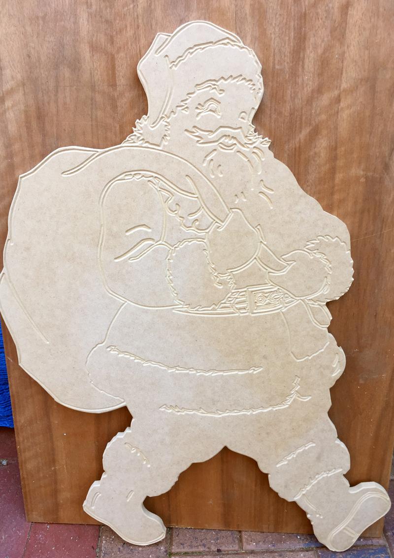 Santa with sack Carved.jpg