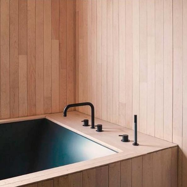 Love this timber bath surround - Workshop
