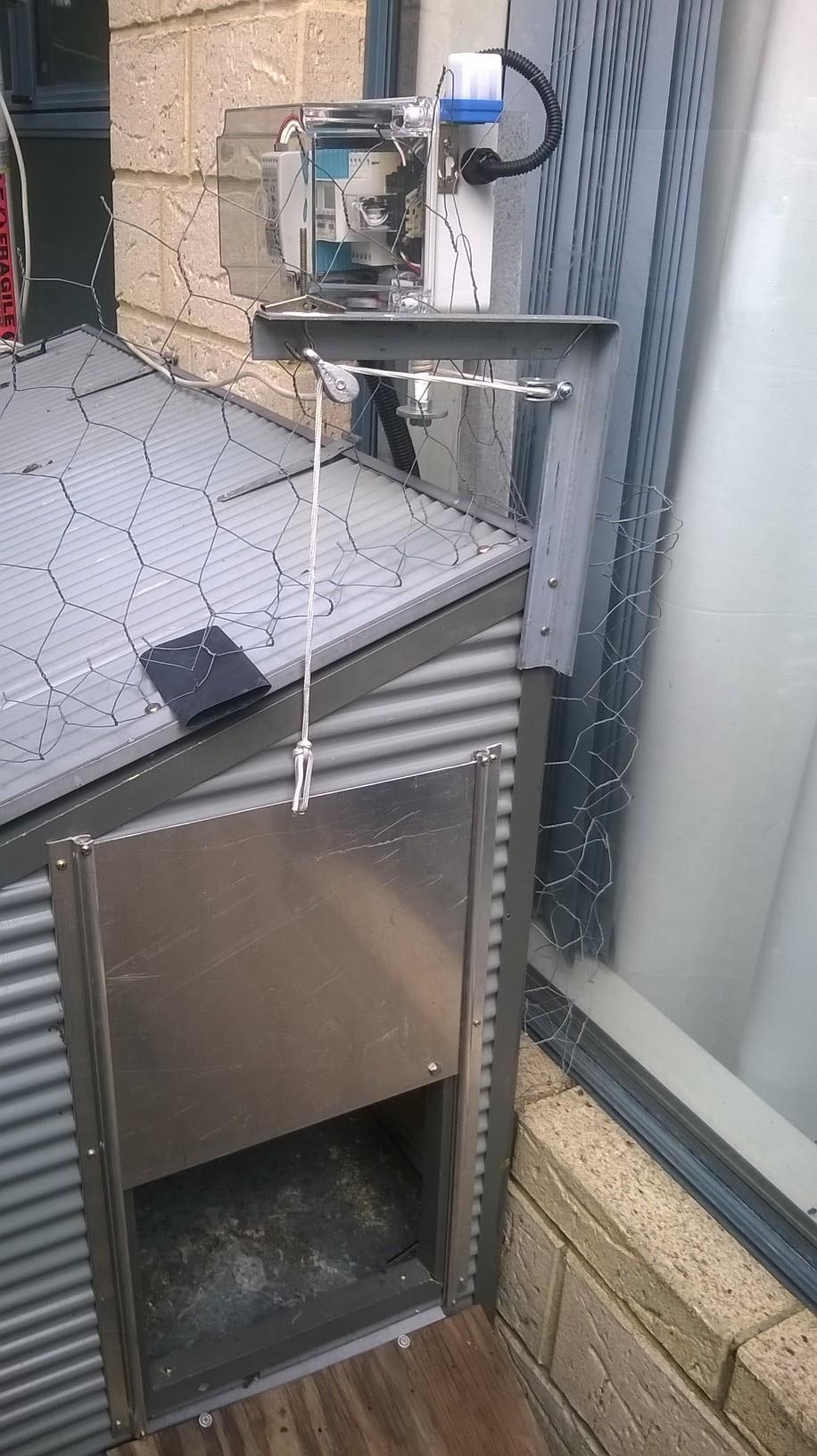 Automatic Chicken Coop Door Opener Workshop