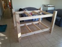 20161014 Finished main frame of workbench.jpg