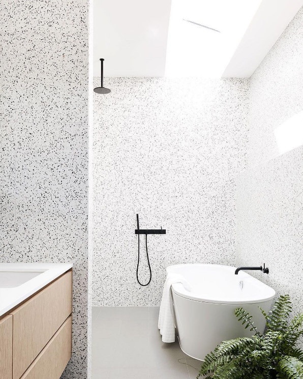 Large format terrazzo tile - Workshop