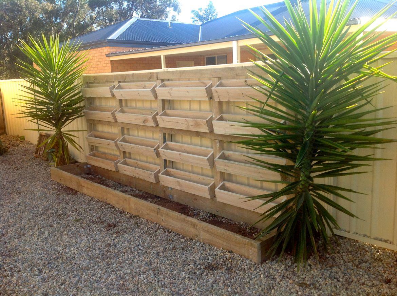 the vertical gardens that i built