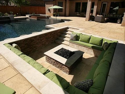 Sunken fire pit inspiration - Workshop