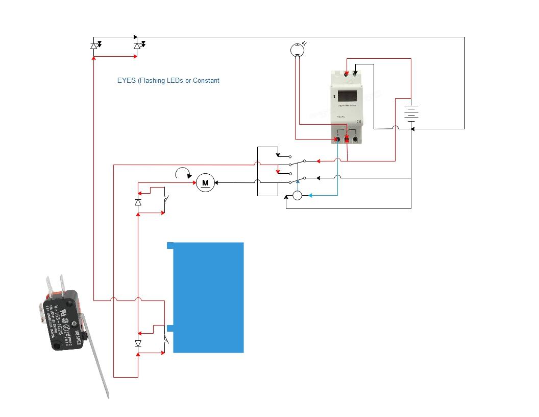 Chicken Door Opener Wiring Diagram Worksheet And Commercial Automatic Coop Workshop Rh Com Au Openers
