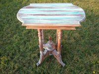 Coastal shabby chic table