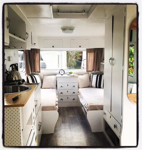 Retro Caravan Renovation Workshop