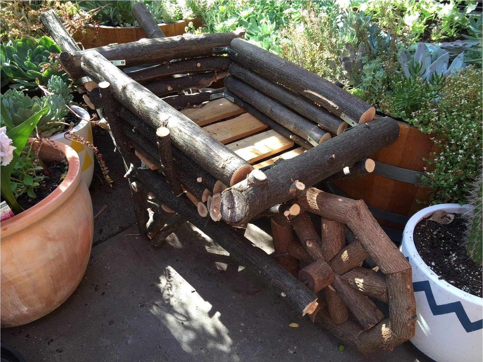 branches wheelbarrow