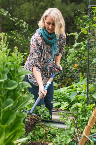 Cath says you don't need to invest a lot of time to have a thriving garden.