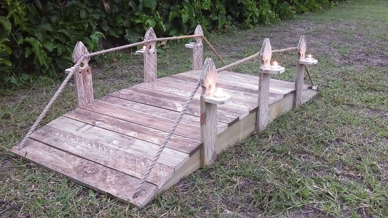 Garden bridge.