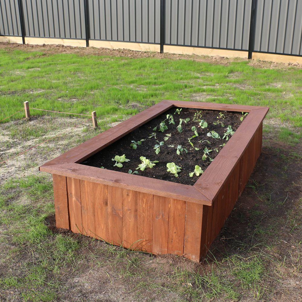 Pallet Garden Bed