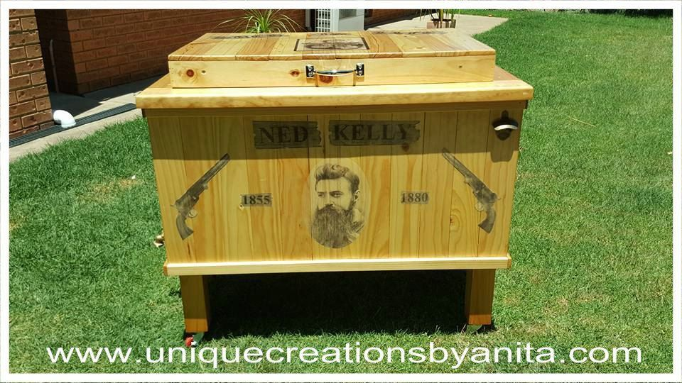 Ned Kelly Wooden Esky (1).jpg