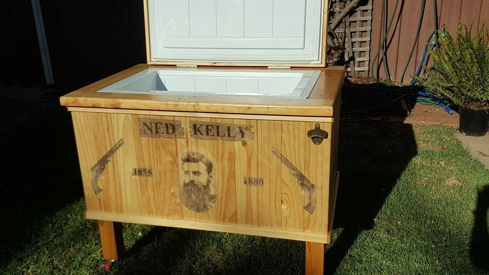 Ned Kelly Wooden Esky (2).jpg