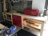 Thorough research and planning helped deliver a wonderful workbench