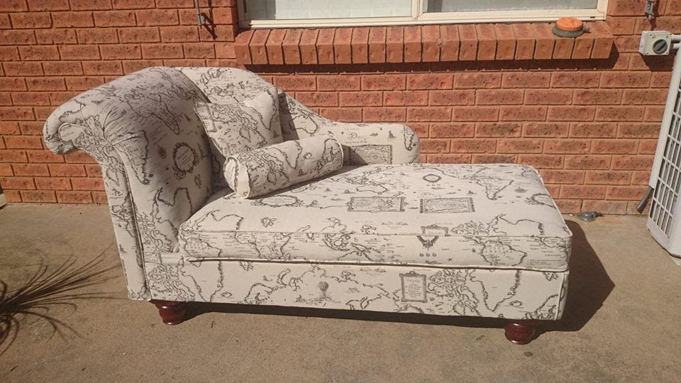 Handmade Chaise lounge