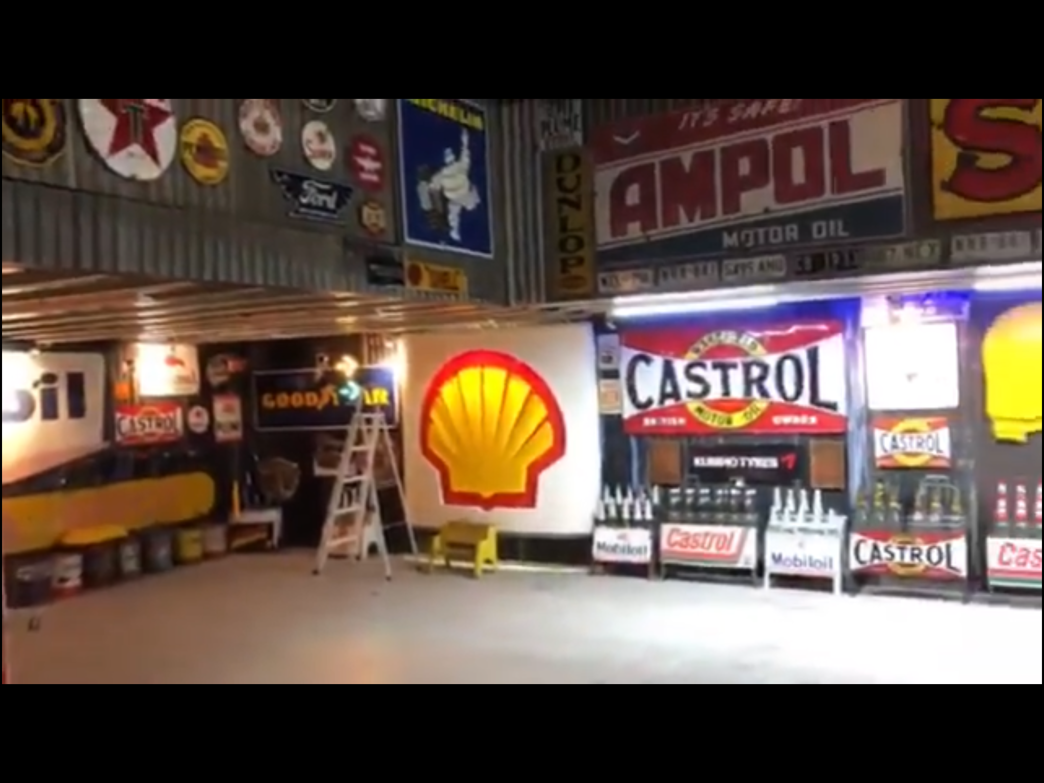 A Tour Of My Man Cave And 1950s American Bunnings